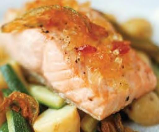 Receta salmon acaramelado freealfin for Como se cocina el salmon