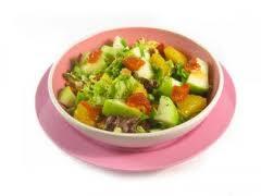 Receta Ensalada de Verduras y Pollo