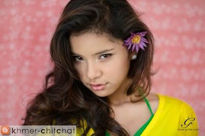 mak sainsonita khmer hot girl model