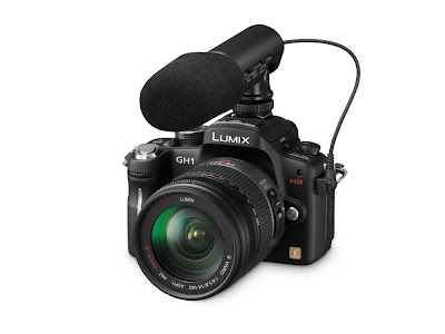 Lumix DMC-GH1 is called a CREATIVE HD HYBRID