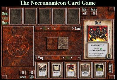 The Necronomicon Card Game