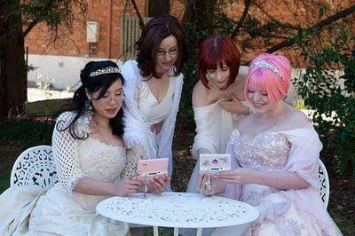 тематическая лесбийская свадьба