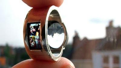 Обручальное кольцо - проектор