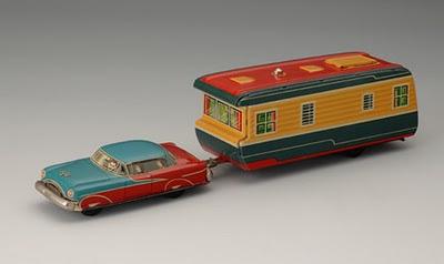 Японская игрушечная машинка 1950-х годов