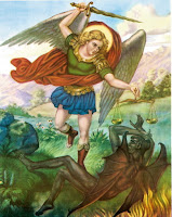 Saint Michael, watch over us.
