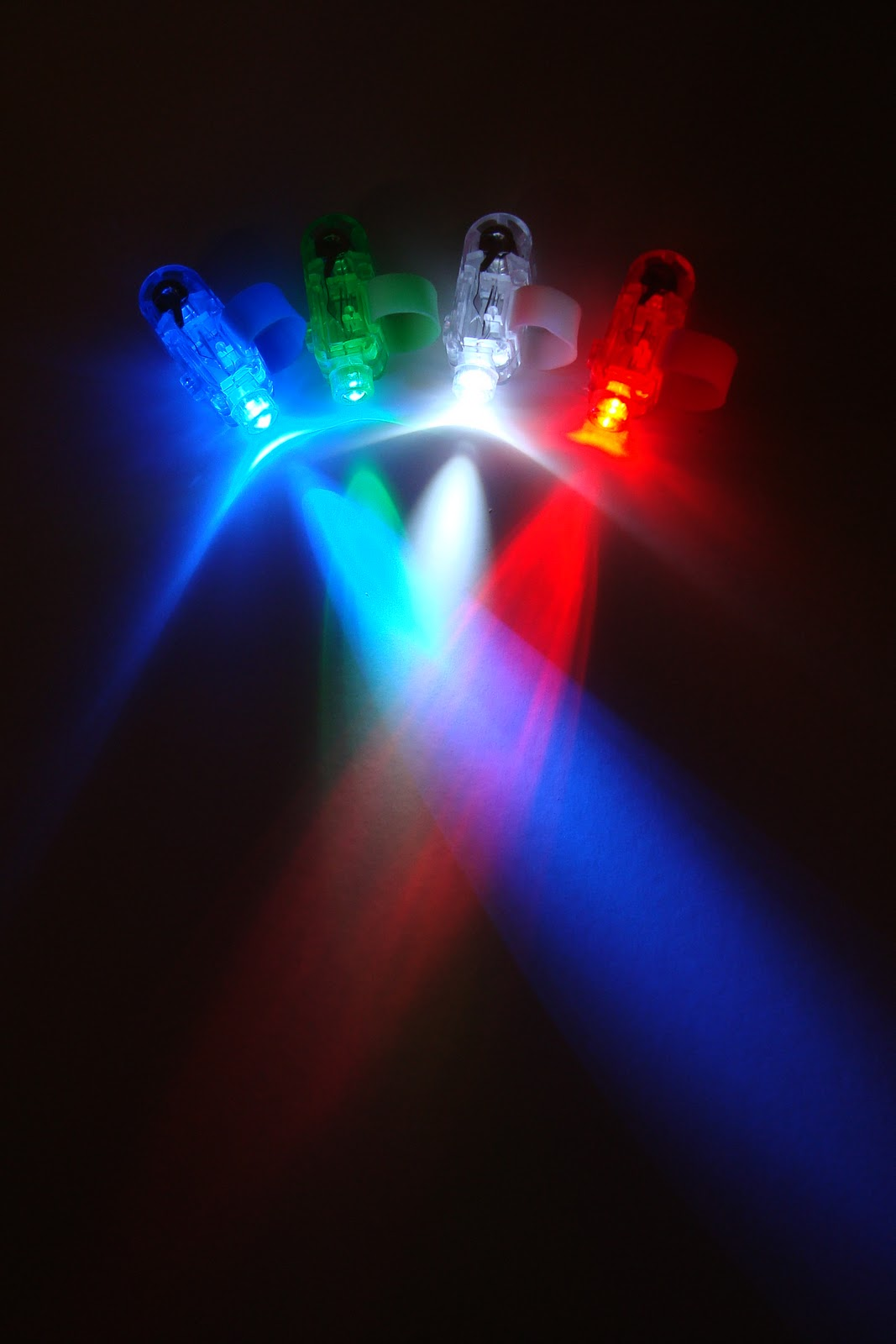 Dydnovedades luces led para dedos - Luces led a pilas para armarios ...