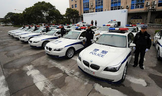 Shanghai Police BMW cars@peterpeng210.blogspot.com