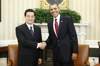 Obama and Hu@peterpeng210.blogspot.com