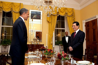 Obama held dinner with Hu