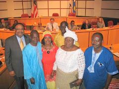 THOMAS AKODKJINOU & BENIN DELEGATION at MOBILE CITY HALL WITH MAYOR SAM JONES