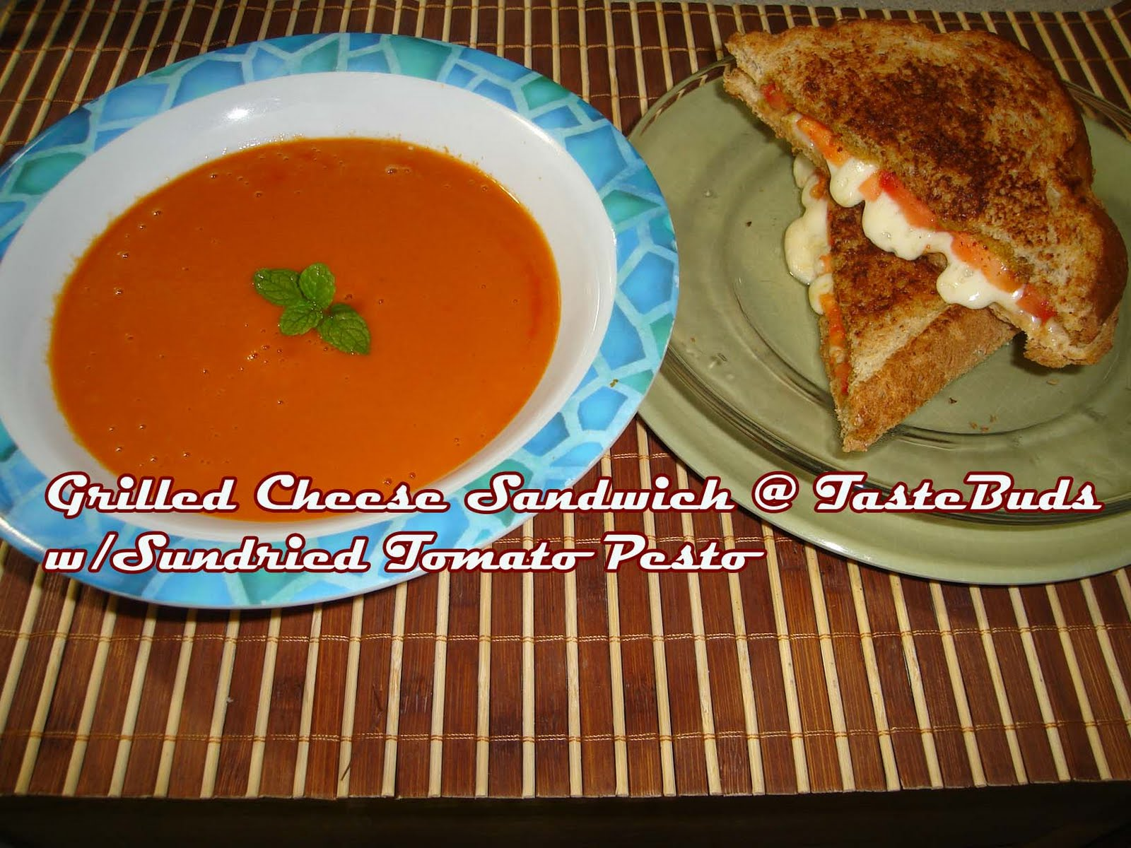 Taste Buds: Grilled Cheese Sandwich with Sundried Tomato Pesto