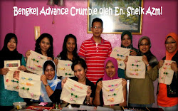 Bengkel Advance Crumble dikendalikan oleh En. Sheik Azmi