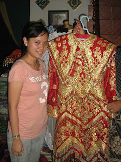 Kiri foto baju pengantin minang untuk adak daro)