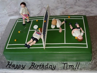 Another Great Tennis Cake