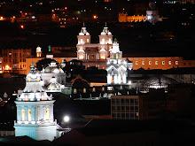 Quito Centro Histórico nocturno