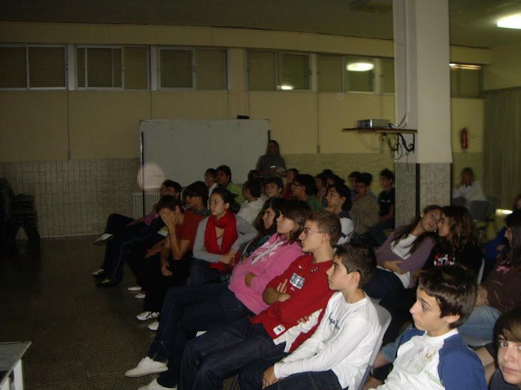 Presentación del DOMUND en el colegio de la Consolación Vilareal