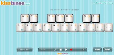 Kisstunes: Creando musica a traves de tu teclado