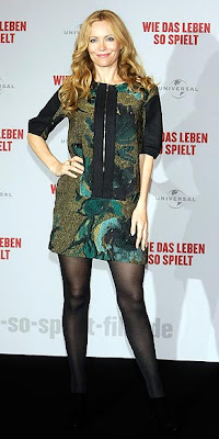 Leslie Mann Promoting The Funny People In Berlin