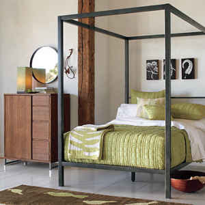 iron canopy queen bed at Target - Target.com : Furniture, Baby