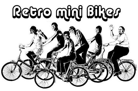 Retro mini Bikes