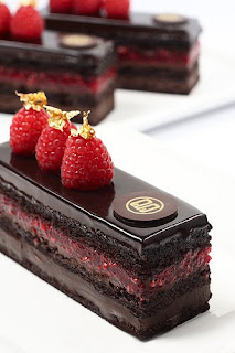 Rich Raspberry Chocolate Cake
