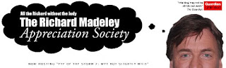 Richard Madeley Appreciation Society banner