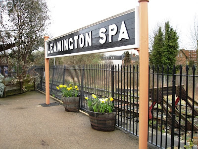 Sign at Leamington Spa railway station