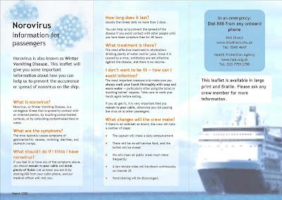 Norovirus leaflet