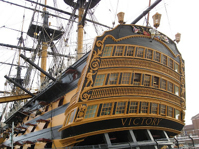 Stern of HMS Victory