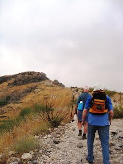 Climbing the hill