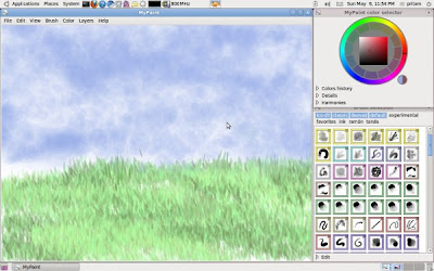 MyPaint Painting Application