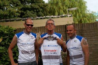 2010 fietsen door Pyreneeën