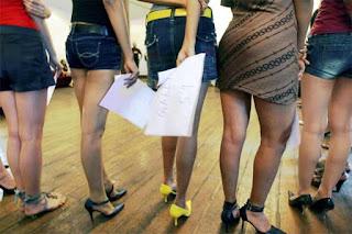 Delhi girls in Western Dresses