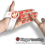 Finger touching