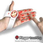 Finger touching