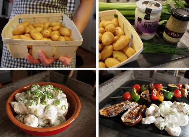 Oppskrift Vegan Potetsalat Melkefri Majones Hjemmelaget Grillmat