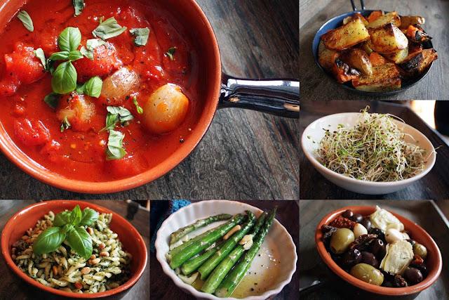 Oppskrift Forslag Vegan Tapas Vegetartapas Meny