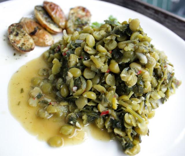 Oppskrift Urtekokte Grønne Erter Splitterter Vegan Vegetarmat Urter