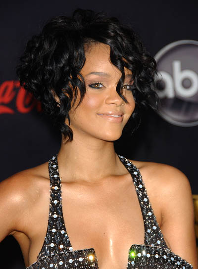 rihanna hair red short. Rihanna red hair