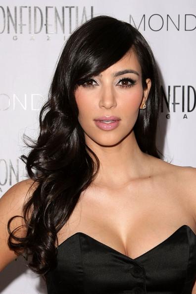 Kim Kardashian Hairstyles,Kim Kardashian Long Hairstyle