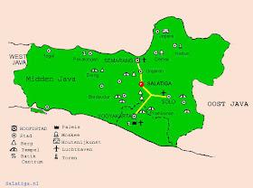 Gambar Peta Jawa Tengah (Jateng)