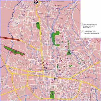 Gambar Peta kabupaten Bandung