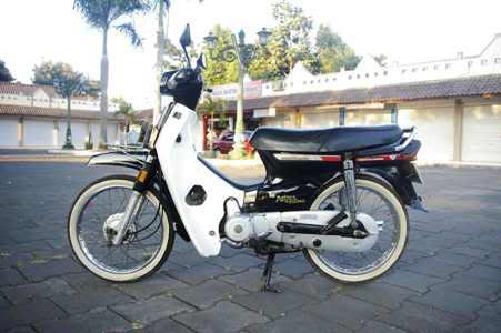 Gambar Modifikasi motor Astrea Prima 1991 Antik title=