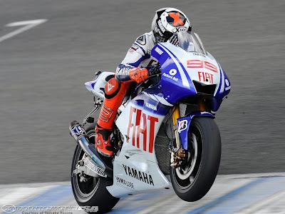 2010 Jorge Lorenzo And Valentino Rossi MotoGp