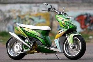 Picture Motor Vario Modifikasi