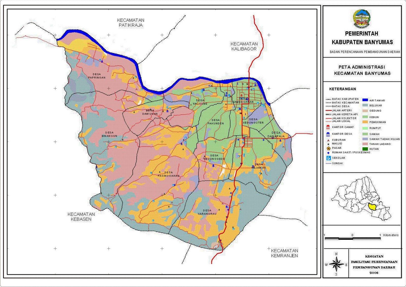 Gambar Peta Jalan Kota Purwokerto | Ask Home Design