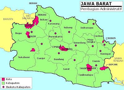 Gambar Peta Kota Cirebon