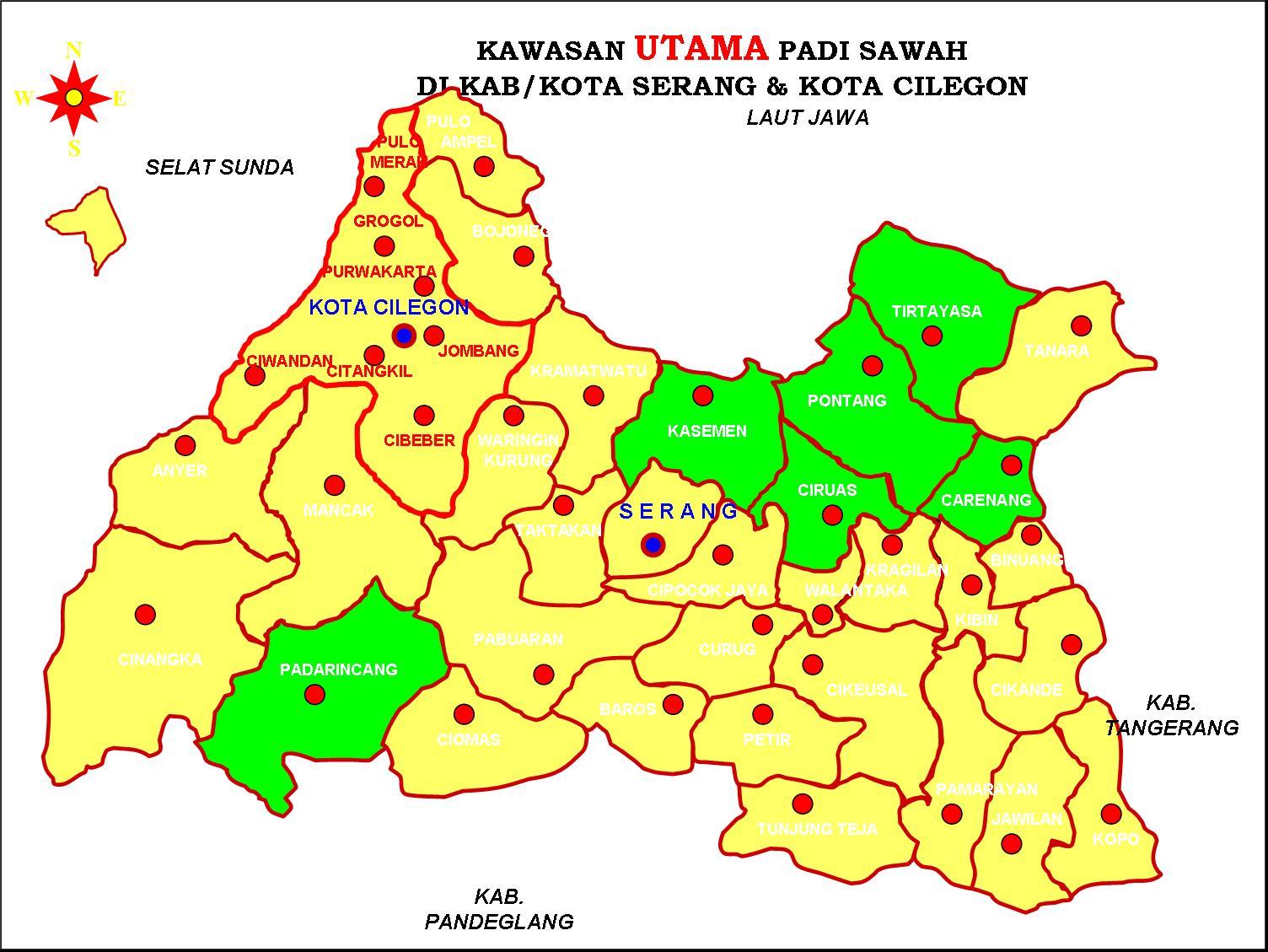 Peta Banten Indonesia