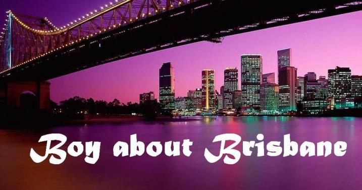 Boy about Brisbane