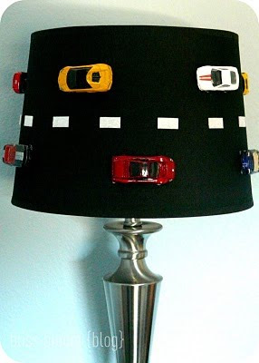 what a cool lamp for a boy 39 s room the lampshade is made to look. Black Bedroom Furniture Sets. Home Design Ideas